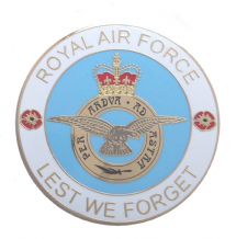 Royal Air Force RAF 'Lest We Forget' Service Personel Remembrance Coin - Boxed